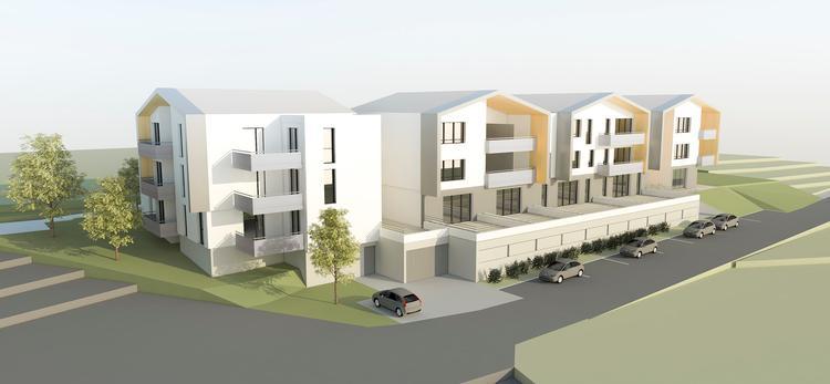 19 logements Chazelle sur Lyon - Travaux en cours - 1 650 000 € HT