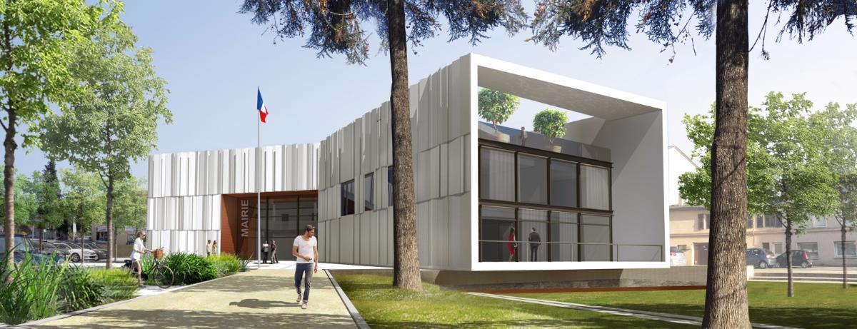 Mairie de La Fouillouse - Etudes en cours - 2 171 200 € HT
