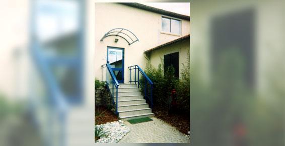 Menuiserie aluminium rambarde escalier