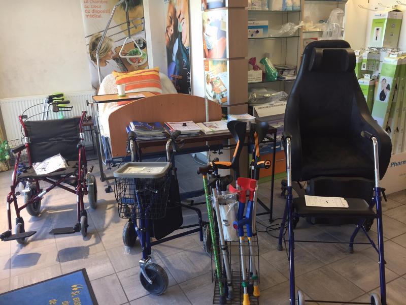 Vente de déambulateur à Giat (63) - Pharmacie Labonne Monneron