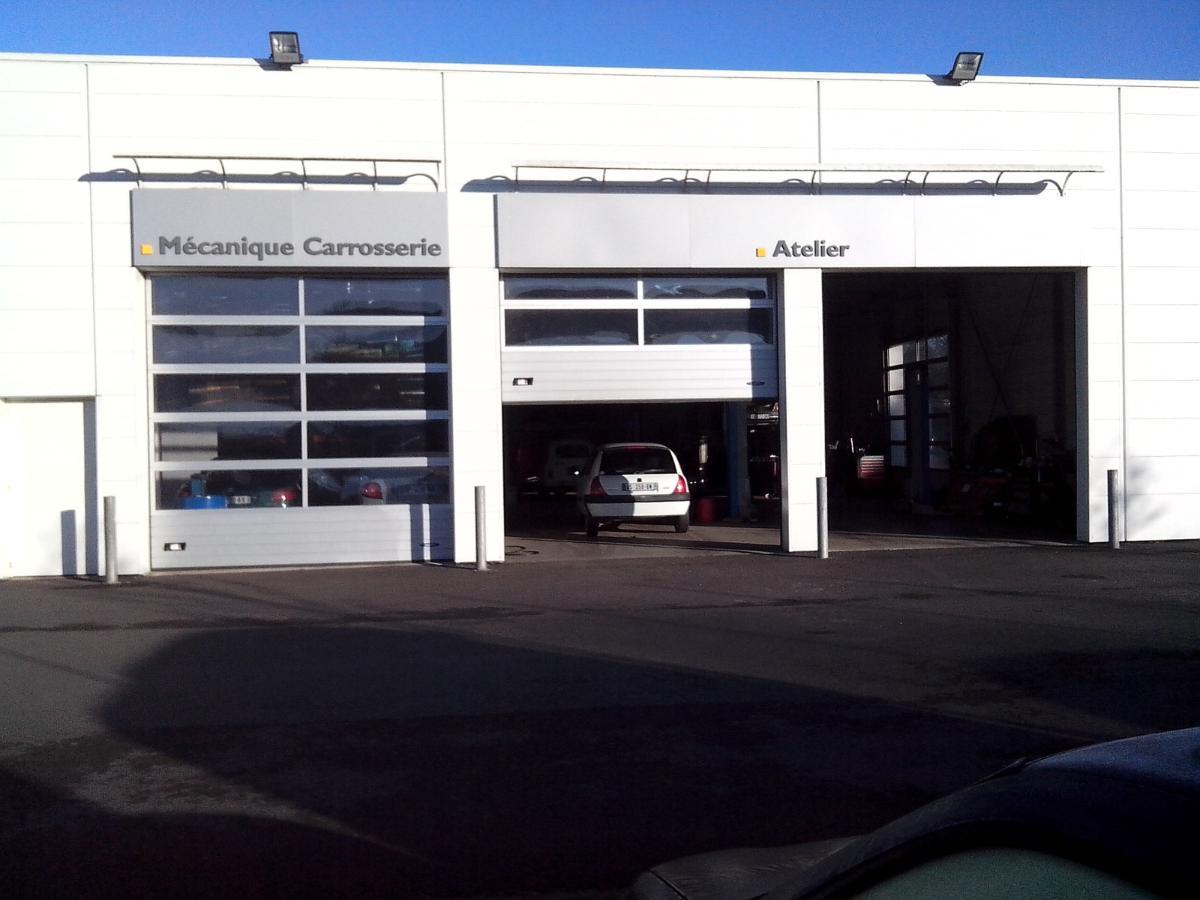 Garage Fauchoux, présentation contrôle technique, Montauban-de-Bretagne