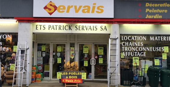 Servais Patrick SA à Sully sur Loire - Bricolage outillage