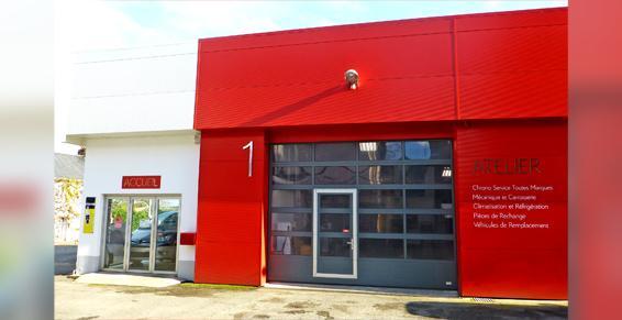 Garage Plissonneau à Campbon - Entrée atelier