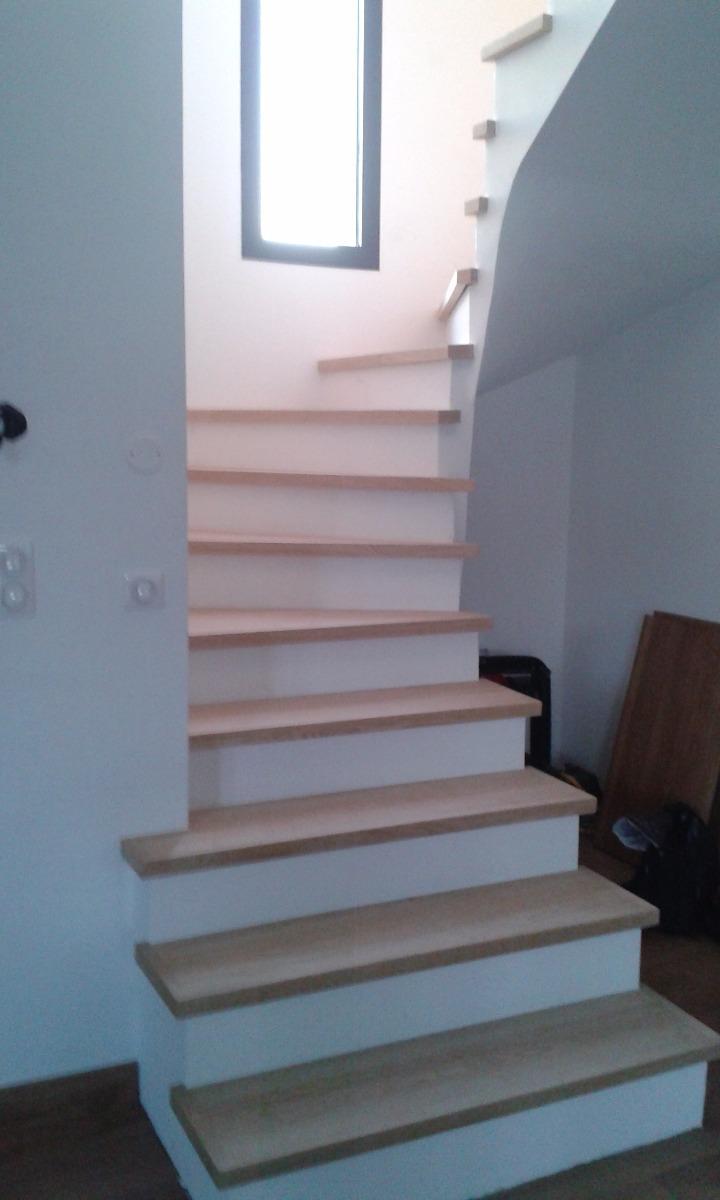 habillage d escalier beton