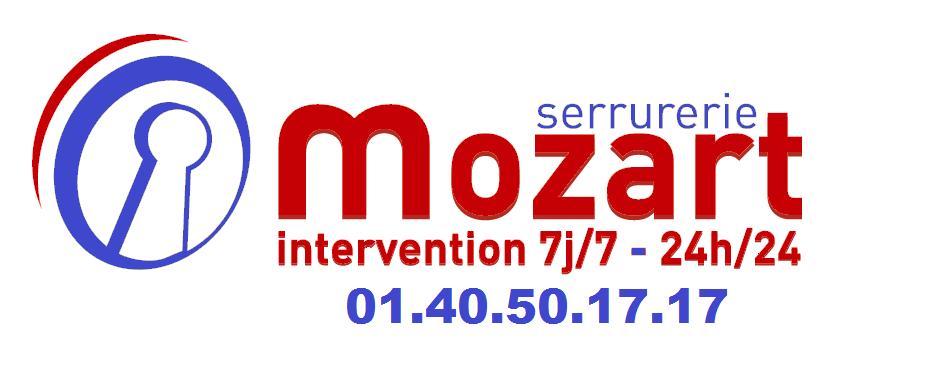 Serrurerie Mozart Paris 16