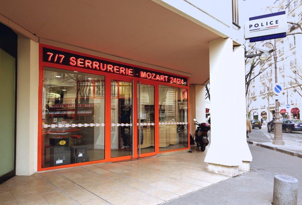 La serrurerie Mozart se situe dans le 16ème arrondissement de Paris