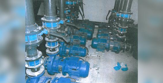 Centre Nautique de Graulhet - Locaux techniques après travaux