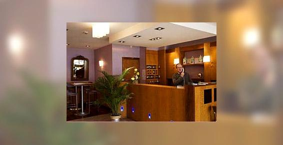 Hall d'accueil de l'Hôtel Brest Hôtel de la Rade à Brest