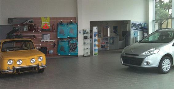 Hall d'exposition à Plougastel-Daoulas (29)