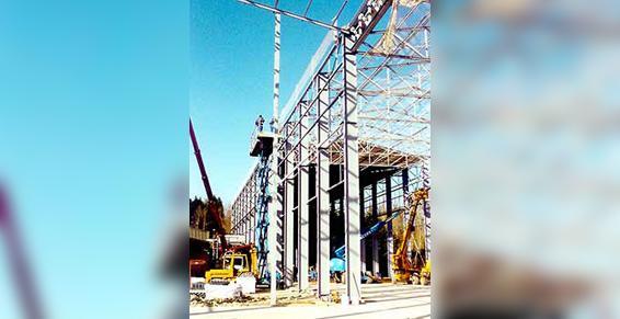 Brisard-Noguès SAS construction en cours à Feytiat
