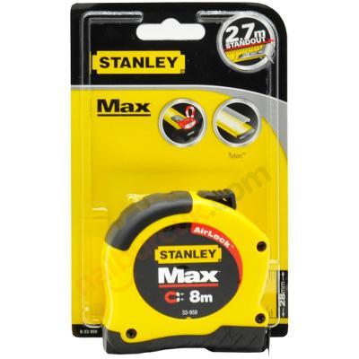 STANLEY 033959 MAX. MANYETIK METRE 8MT X 28MM