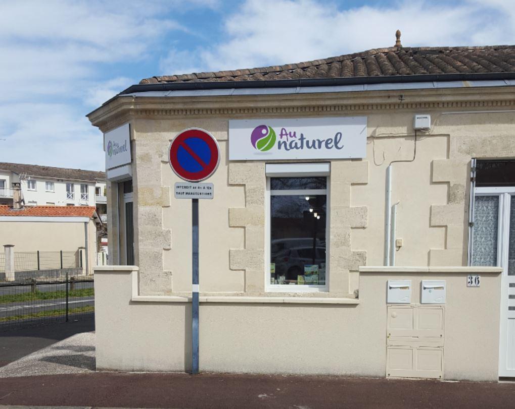 Au Naturel, 36 place de la République à St Médard en Jalles