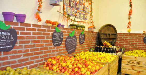 Gros de fruits et légumes - Légumes