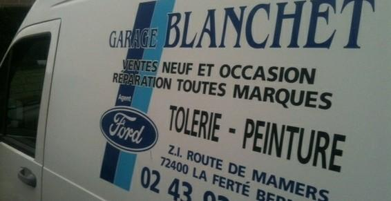 Camion Garage Blanchet