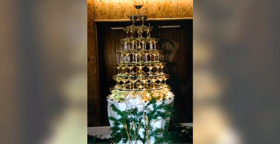 A La Coquille Saint Jacques - Fontaine à champagne