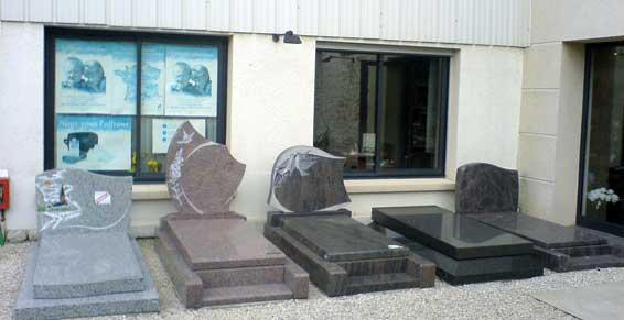 Marbriers funéraires - Pierres tombales Angerville