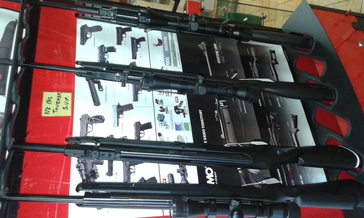 Carabines 4.5 air comprimé