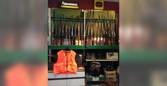 Chasse, tir, armes d'occasion, réparations à Montpellier