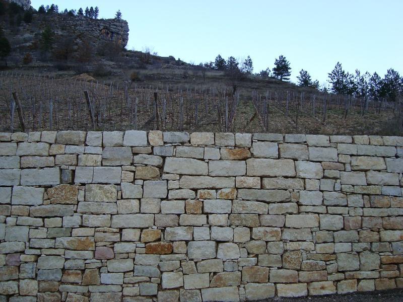 mur calcaire -rd907