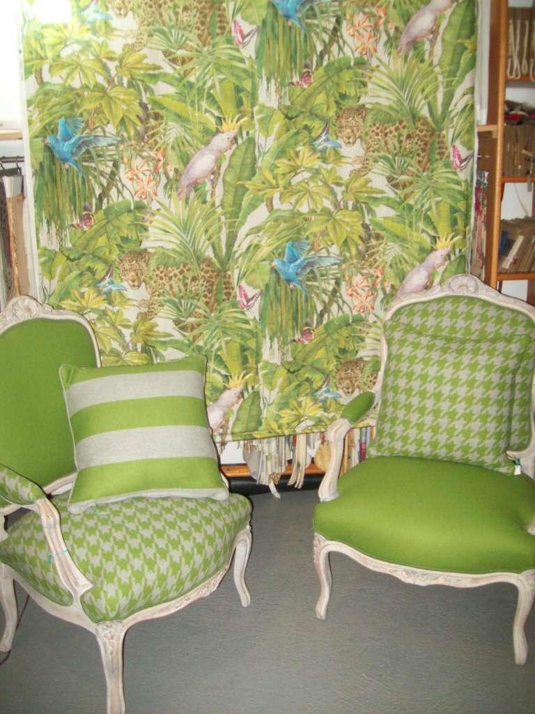 Le vert en 2015 Tapissier à Bayonne