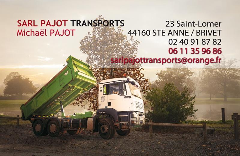 Sarl Pajot à Sainte Anne sur Brivet - Professionnels et Particuliers