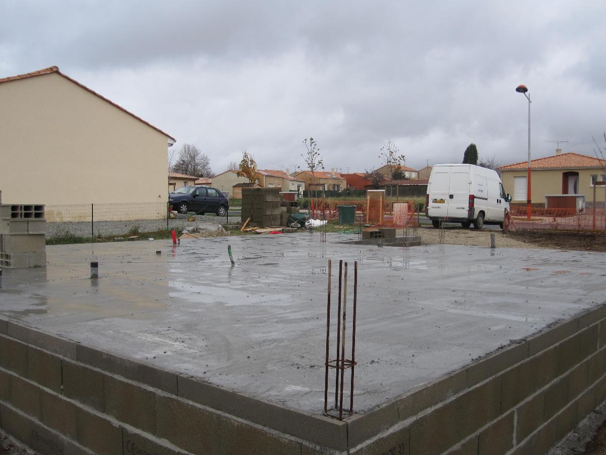 pavillon 120 m2 en construction