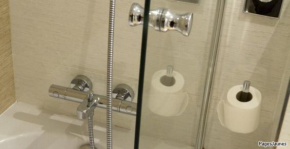 Aménagement de salles de bains par votre plombier de Nantes