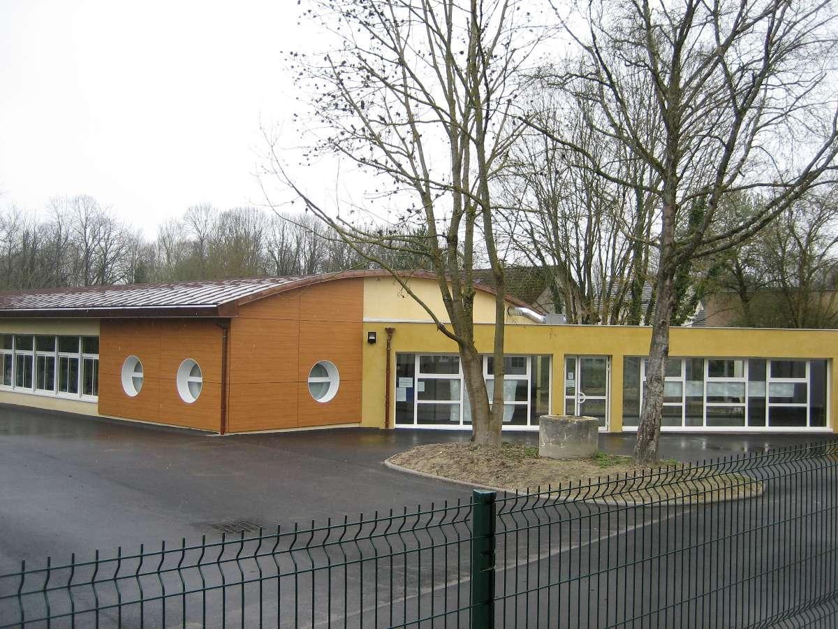 installation géothermie école de Clenay