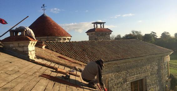Rénovation de toiture à Tillou