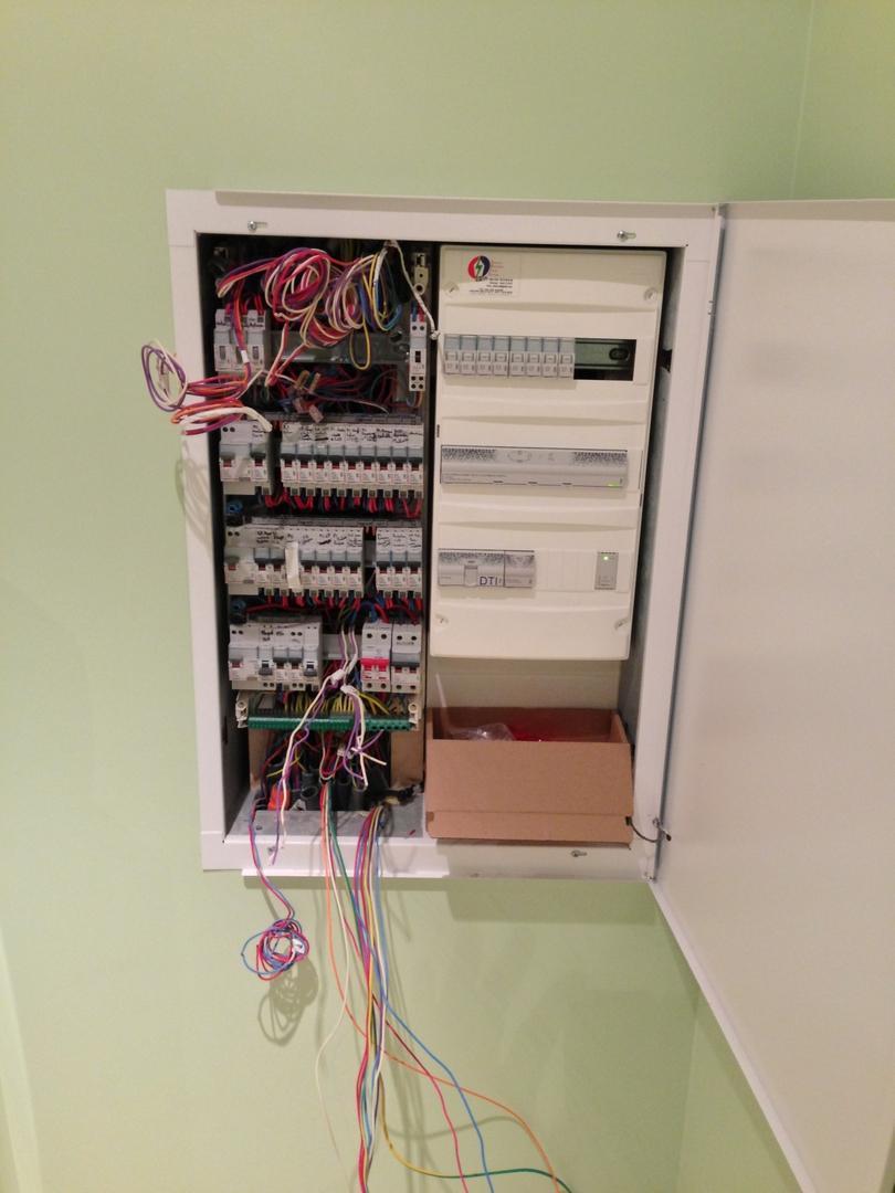 Renovation électrique complète aux normes NF C 15-100