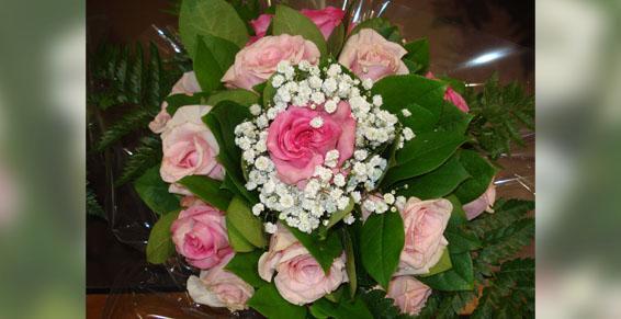 Bouquet rond Lola Fleurs, fleuriste à Alès