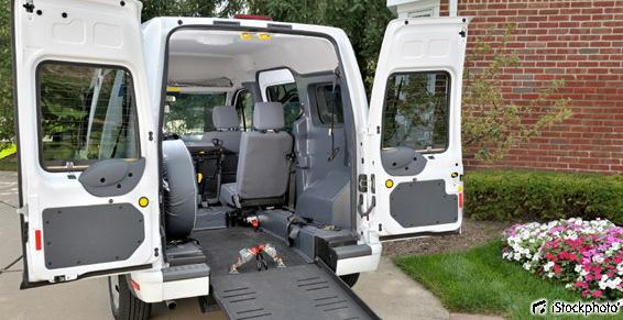 Transport de personnes handicapés - Fort de France