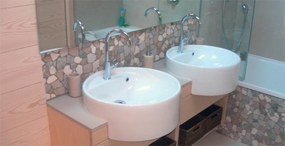 Menuiserie - Fabrication sur-mesure meuble double vasque