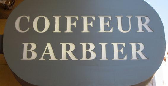 Coiffeur - Enseigne 83000 Toulon