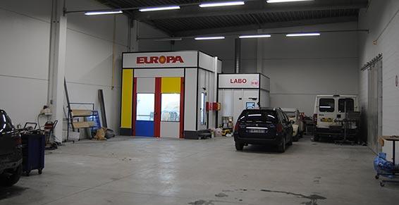 Garage des deux Caps - Marquise - atelier de carrosserie