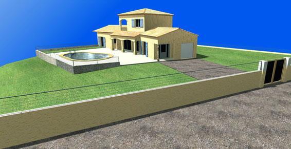3P Construction à Aiglun - Bâtiment