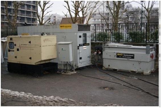 Groupe electrogene et groupe de secours Redebat à Villepinte
