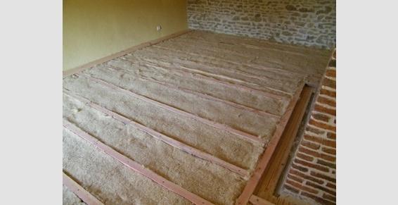 isolation plancher en laine de chanvre