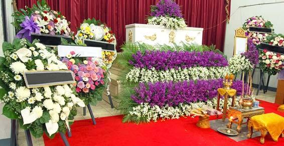 pompes funèbres - composition florale pour fune_raille