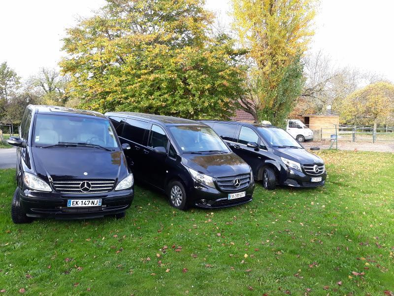 Les 3 minivans de la Société, pour une offre plus étoffée.