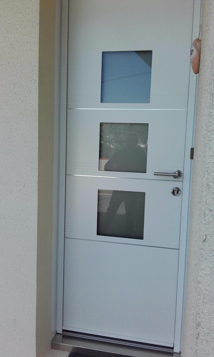 Porte d'entrée modèle Studio K-Line La Chevrolière