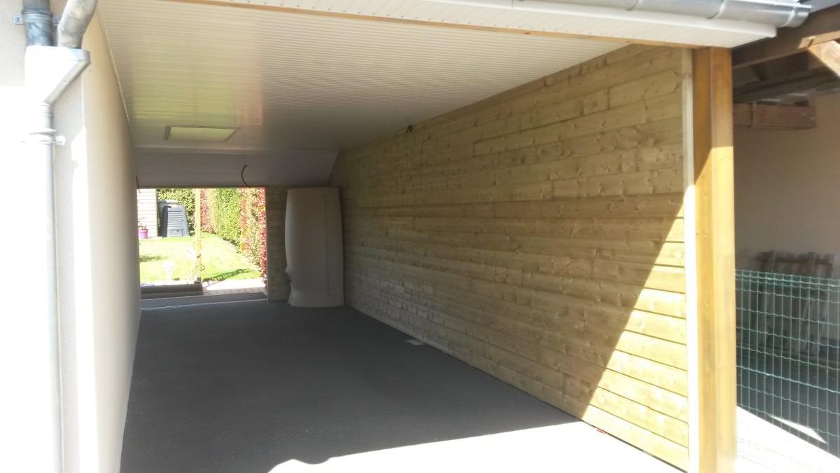Bardage et lambris PVC AG RENOV' à Martigné-sur-Mayenne