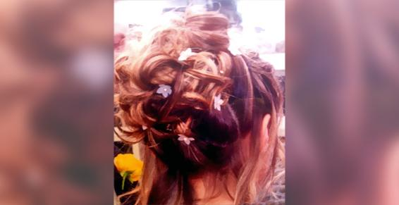 Chignon coiffure de mariée
