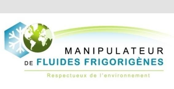 Attestation de capacité pour manipulation de fluides frigorigènes