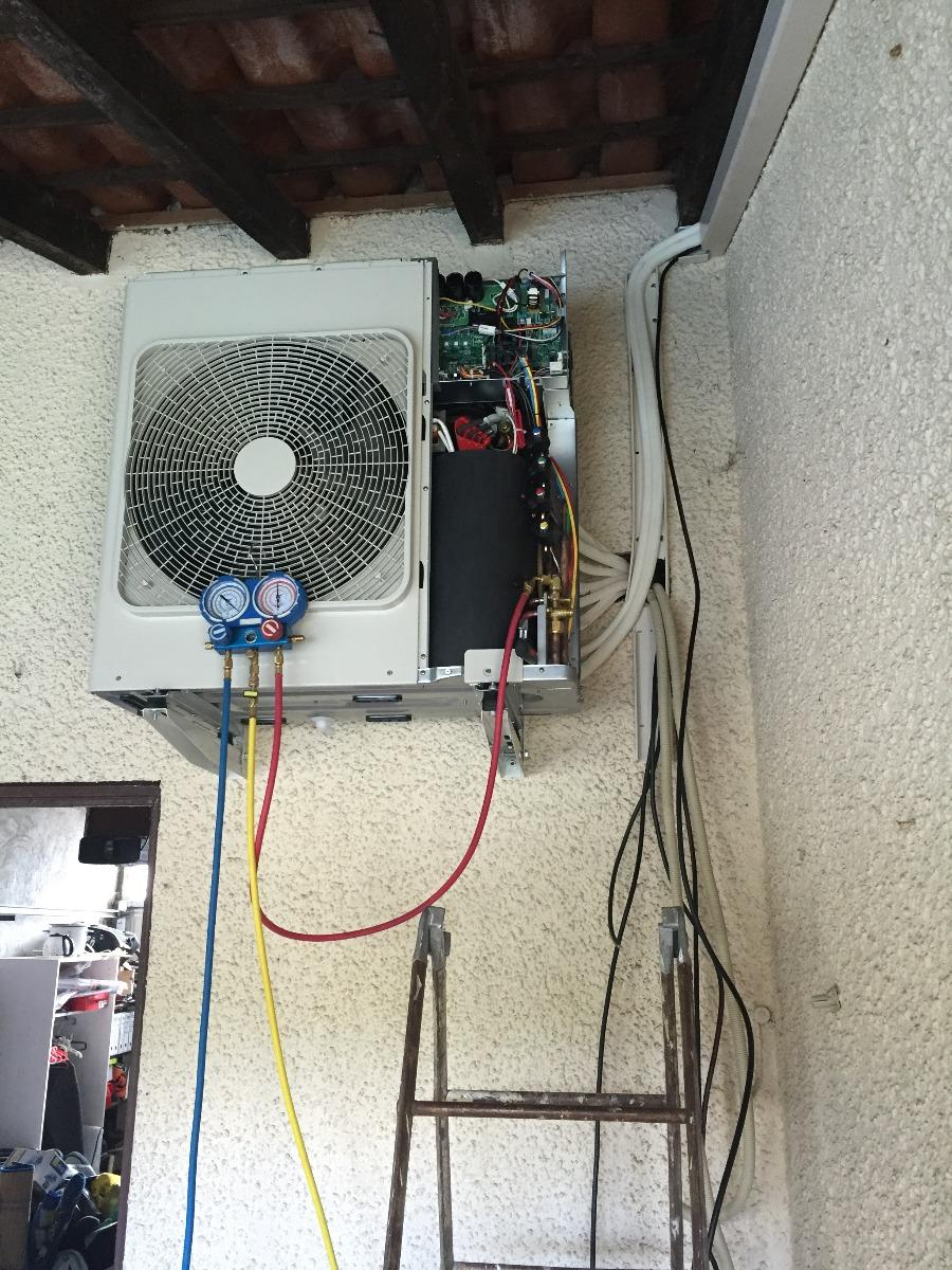 Mise en service de climatisation Francarville