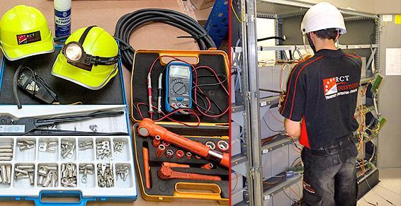 Compétences et matériels pour transporter et installer vos onduleurs.