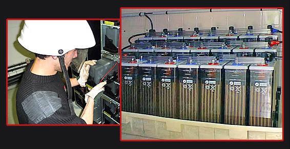 Montage batteries industrielles et dépollution.