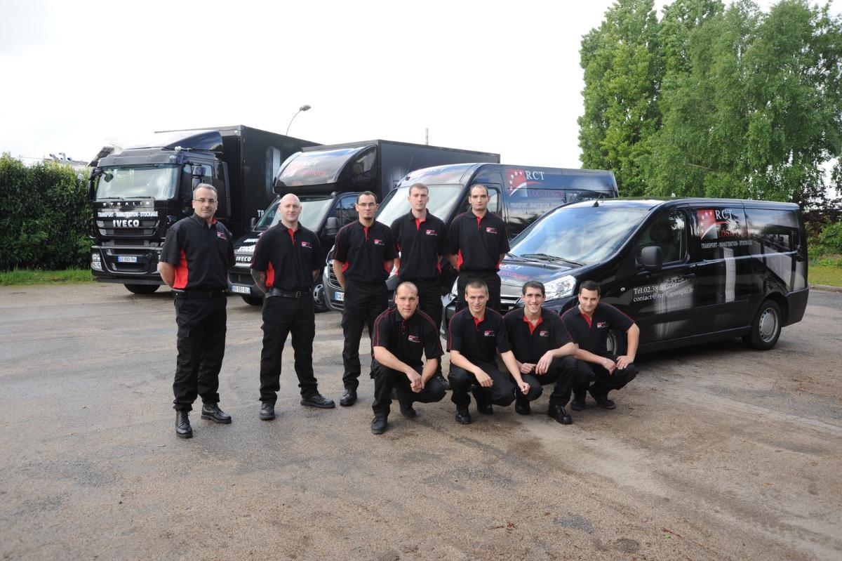 RCT Logistique à Phitiviers, une équipe dynamique à votre service !