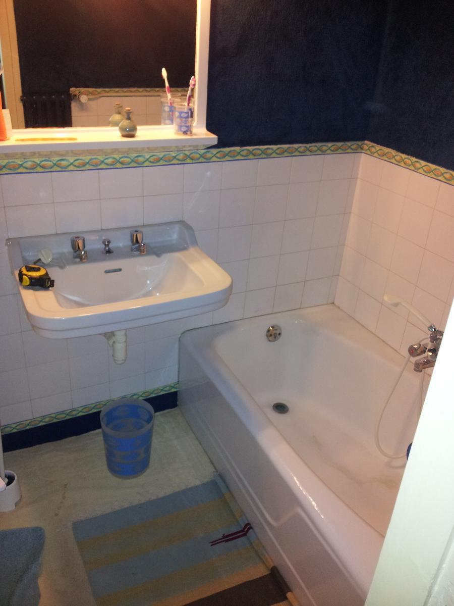 Réhabilitation salle de bain (avant) - votre plombier GIANI  (14)