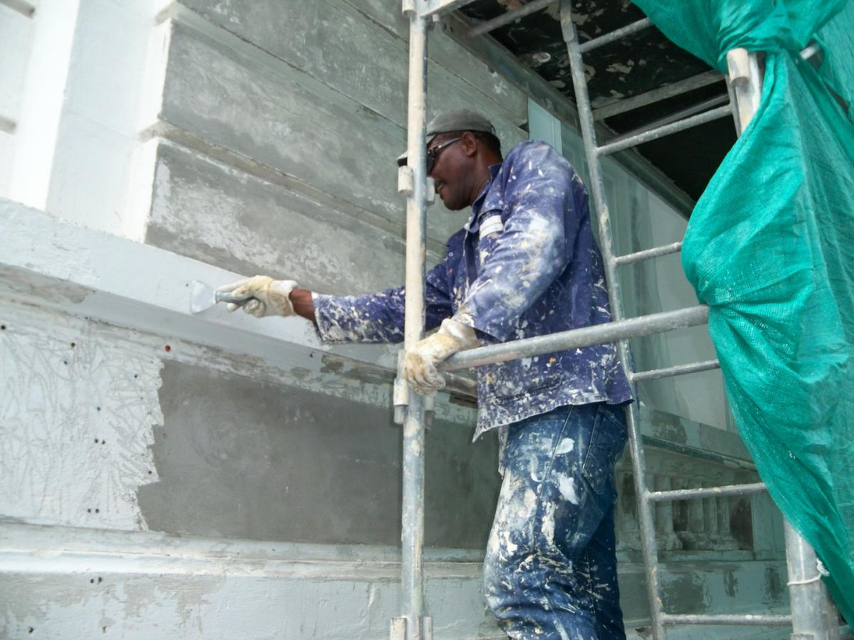 Rénovation de façades à Cayenne en Guyane (973)